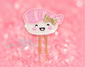 Sushi Cutie Glitter Paperclip