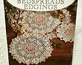 Vintage American Thread Co. Star Book #179 Crochet Book ~ Doilies Tablecloths Bedspreads Edging ~ DIY Instruction How To Book