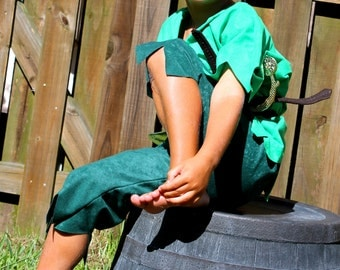 Peter pan or Robin hood  Children s Costume  Halloween sizes through 8years old