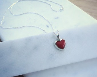 Valentine's Day gift, heart necklace,  jewelry for her