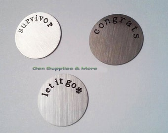 Floating Locket Plate, Survivor Plate, congrats Plate, let it go Plate, Plates  For Floating locket