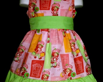 Sleeveless Summer Dress Strawberry Shortcake Boutique 12/18M 24M/2T 3T/4T 5/6 Pageant New