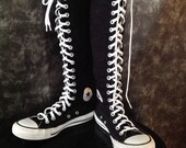Converse high-top sneakers / black converse sneaker