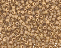 Delica Duracoat Seed Beads Opaque Light Khaki (DB2105) #11 50 grams