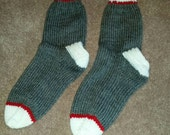 Womens Sock Socks Size 9 10 shoe Ready to Ship