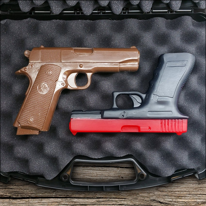 Soap & Chocolate Gun Gift Set