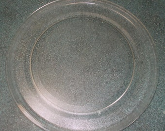 Microwave 1996 Sharp Carousel R-4A58 Replacement Glass Turntable 14 3/16""