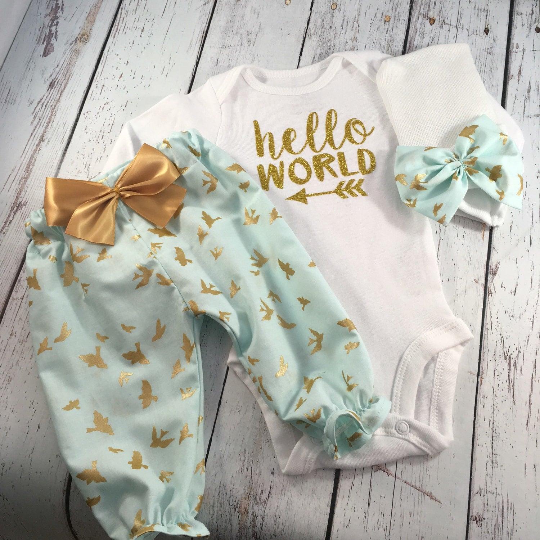 Newborn Girl Take Home Outfit Newborn Girl Newborn Outfit
