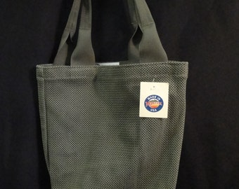 Tactical Tote Bag / Small Green Mesh with Shoulder Straps