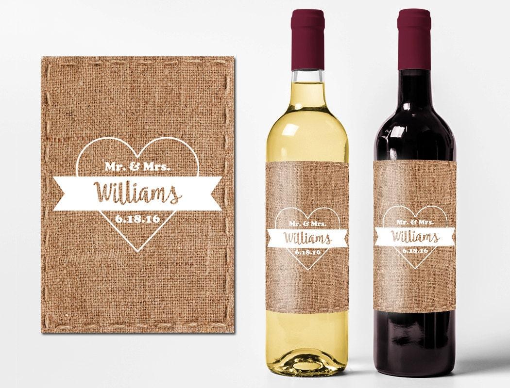 Customized Wine Bottles Wedding Favors Personalized Champagne Bottle