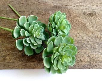 Succulents, faux succulents, hens and chicks, artificial succulent, hens chicks, fake succulent, succulent arrangement, bridal bouquet