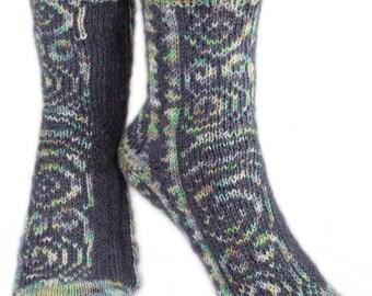 KNITTING PATTERN for Maori Tattoo Socks