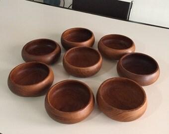wooden salad bowl danish teak bowlssalad bowl mid century
