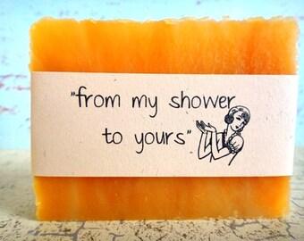 Vintage Bridal Shower Favors - Wedding Favors - Personalized Bridal Shower Favors - Vegan Favors - Handmade Soap Favors - DIY Party Favors