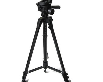 Vintage Telescopic Camera Tripod / Photography Camera Video Equipment With Carrying Bag
