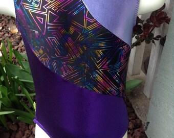 Choose your colour combo MATRIX leotard for dance/gymnastics/swimming - girl's sizes