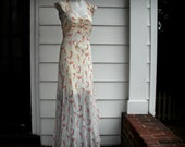 Full Length Vintage Negligee