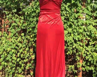 Jessica Rabbit Dress Costume, size Medium