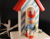Toy Soldier Wooden Nightlight Nursery Light