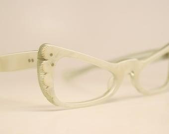 Unused Small Vintage Cat Eye Glasses cat eye glasses vintage cateye frames eyeglasses NOS