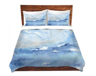 Duvet Cover Ocean Wave Painting - Nature Modern Bedding - Queen Size Duvet Cover - King Size Duvet Cover