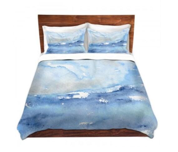 Duvet Cover Ocean Wave Painting - Nature Modern Bedding - Queen Size Duvet Cover - King Size Duvet Cover
