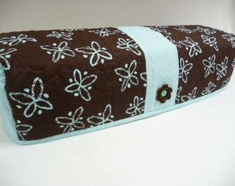 Dots and Blooms - Quilted Cricut Explore Cozy - Explore Cozy - Explore Dust Cover