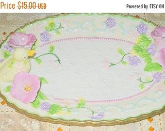 Save 10% Easter Serving Platter - Avon China