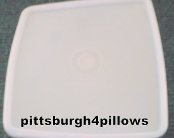 1 - Tupperware - Clear - 671 - Square Lid - Replacement Lid