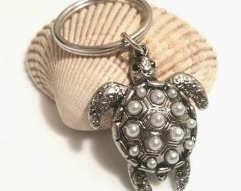 Sea Turtle Key Chain Honu Hawaiian Keychain Keyring Beach Teen Girl Gifts Tween Girl Gift Trending Now