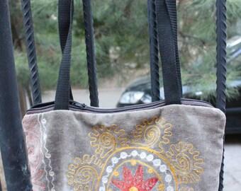 Vintage suzani bag