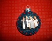 Single Ornaments - One Direction Inspired