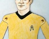 Captain Kirk Star Trek Paper Doll
