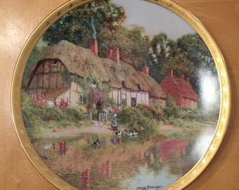 Peaceful Retreat- EnglishCountry Cottage plate