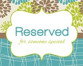 RESERVED FOR Mandi L.