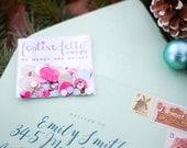 Be Married and Bright festive-fetti™ Confetti - Party Confetti Bags with Custom Wording / Toss Confetti / Confetti as Bridal Shower Decor