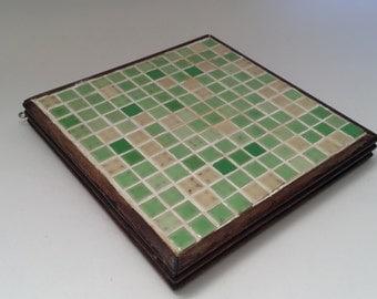 Ceramic Tiled Pot Holder Trivet