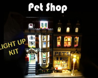 Light up kits for 10218 PetShop - (Model not included)
