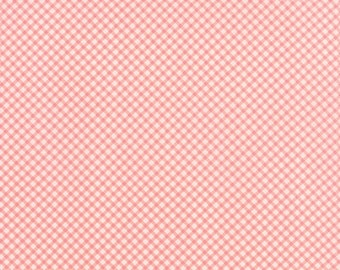 "Windermere - Gingham in Blossom by Brenda Riddle for Moda Fabrics - 26"" Remant"