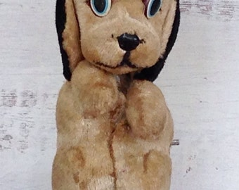 Antique Marx Non Working Midcentury Toy Wind Up Dog
