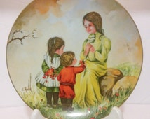 Kern Collectibles 1976 Mothers Day Series Spring  Delight Original Oil Painting From Gloria Ranck numbered sango China made in Japan