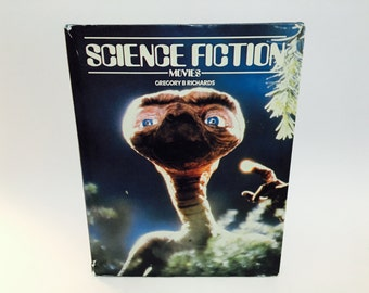 Vintage Guide Book Science Fiction Movies by Gregory Richards 1984 Hardcover