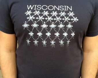 Wisconsin Two Season - vintage inspired t-shirt