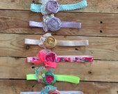 Sale headbands 2.99 each. Baby headbands cozette couture