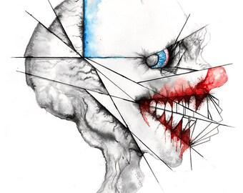Clowning Around - Matte Print