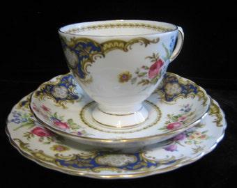 Vintage Tuscan China Trio Windsor pattern