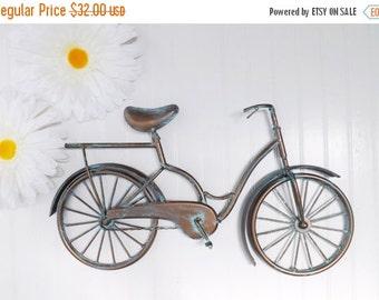 Patina / Bicycle Wall Art / Retro / Vintage / Nursery Decor / Bicycle Wall Decor