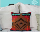 Pillow - Throw pillow - Decorative pillow - bed pillow - aztec pillow - south western pillow