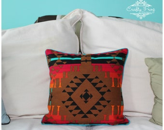 Pillow - Throw pillow - Decorative pillow - bed pillow - aztec pillow - south western pillow