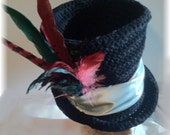 The Best Top Hat Crochet Pattern Steampunk Bohemian Goth Edwardian Victorian Gypsy Festival Hat